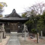 160409_恵方神社と葉桜