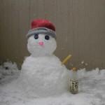 170115_雪だるま